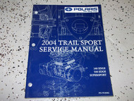 2004 TRAIL SPORT 340 EDGE 500 EDGE SUPERSPORT ATV Shop Repair Service Manual 04
