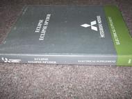 2004 MITSUBISHI Eclipse Eclipse Spyder Electrical Supplement Service Manual OEM