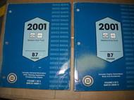 2001 Chevrolet GMC TRUCK Medium Duty B7 CHASSIS Service Shop Repair Manual SET
