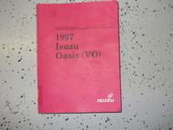 1997 ISUZU OASIS Service Repair Shop Manual FACTORY OEM 97 BOOK