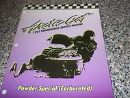 1997 Arctic Cat Powder Special Carbureted Service Repair Shop Manual FACTORY OEM