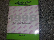 1996 Arctic Cat ZR440 ZR 440 Shop Service Repair Shop Manual OEM