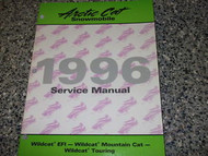 1996 Arctic Cat Wildcat EFI Mountain Cat Touring Service Manual FACTORY OEM