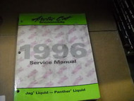 1996 Arctic Cat Jag & Panther Liquid Service Repair Shop Manual FACTORY OEM