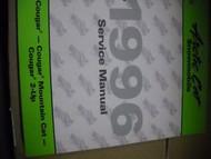 1996 Arctic Cat Cougar 2-UP Mountain Cat Service Repair Shop Manual FACTORY OEM
