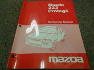 1995 Mazda 323 Protege Bodyshop Service Repair Shop Manual OEM BOOK 95