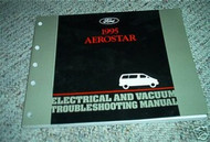 1995 Ford Aerostar Electrical Service Shop Manual