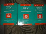 1995 Chrysler Sebring Dodge Avenger Shop Repair Service Manual Set OEM 3 VOLUME