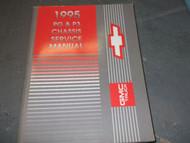 1995 Chevrolet GMC PG P3 Service Repair Shop CHASSIS Manual FACTORY OEM BOOK