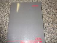 1995 1996 Acura 2.5TL 2.5 TL Service Shop Repair Manual OEM NEW FACTORY DEALER