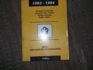 1994 Chrysler New Yorker Body Diag Service Shop Manual
