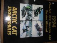 1994 Arctic Cat Cheetah 340 440 Service Repair Shop Manual FACTORY OEM