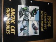 1994 Arctic Cat Cheetah 550 Service Repair Shop Manual FACTORY OEM DEALERSHIP