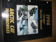 1994 Arctic Cat Cougar Service Repair Shop Manual FACTORY OEM