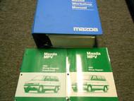 1993 Mazda MPV Van Service Repair Shop Manual SET FACTORY OEM BOOKS DEALERSHIP