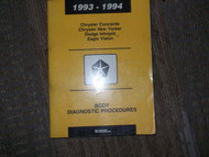 1993 Dodge Intrepid Body Diagnostic Service Shop Manual