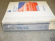 1992 MITSUBISHI Mirage Service Repair Shop Manual 3 VOL SET FACTORY BOOK 92 OEM