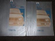 1992 1993 MITSUBISHI Truck Service Repair Shop Manual SET FACTORY OEM DUAL YEARS