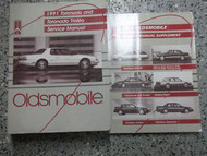 1991 Oldsmobile OLDS TROFEO Service Shop Repair Manual Set OEM FACTORY