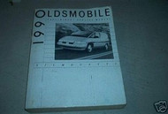 1990 Oldsmobile Silhouette Service Repair Shop Manual