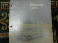 1990 Mazda 323 WIRING Diagram Electrical Service Repair Shop Manual FACTORY OEM