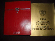 1990 CADILLAC ALLANTE Shop Service Repair Manual Set W PUBLICATIONS MANUAL OEM