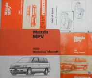 1989 Mazda MPV M P V Service Repair Shop Manual SET FACTORY OEM RARE BOOK 89