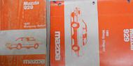 1989 Mazda 929 Service Repair shop manual SET FACTORY OEM Rare How to FIX 89