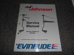 Array - 1989 johnson evinrude electric outboard service manual oem      rh   carboagez com