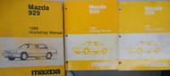 1988 Mazda 323 Bodyshop Service Shop Repair Manual FACTORY OEM BOOKS 88