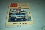 1987 GMC Light Duty Truck Safari Models Shop Repair Service Manual 87 FACTORY