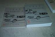 1986 Oldsmobile OLDS TORONADO Repair Service Shop Manual Set DEALERSHIP OEM