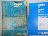 1985 Mazda 626 Service Repair Shop Manual SET FACTORY OEM RARE 85 WORKSHOP BOOK