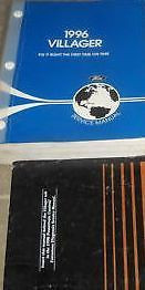 1996 Ford Mercury Villager VAN Repair Service Shop Manual Set W POWERTRAIN BOOK