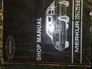1984 1985 Merkur XR4Ti Service Shop Manual FACTORY