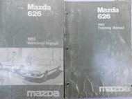 1983 Mazda 626 Service Repair Shop Manual SET FACTORY OEM BOOK RARE WORKSHOP 83