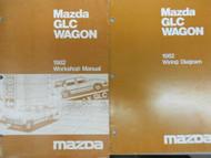 1982 Mazda GLC Wagon Service Repair Shop Manual SET FACTORY OEM BOOKS 82