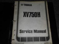 1981 Yamaha XV750H Service Repair Shop Manual OEM FACTORY DEALERSHIP
