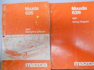 1981 Mazda 626 Service Repair Shop Manual SET FACTORY OEM BOOKS RARE 81
