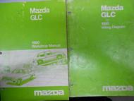 1980 Mazda GLC Service Repair Shop Manual SET FACTORY OEM BOOKS RARE 80