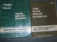 1980 GMC MEDIUM DUTY MODELS TRUCK Service Shop Repair Manual SET OEM 80 FACTORY