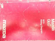 1979 79 GLC Electrical Wiring Diagram Service Manual FACTORY OEM BOOK RARE