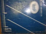 1977 OLDSMOBILE CUTLASS BROUGHAM Body Service Shop Repair Manual BOOK factory