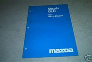 1977 Mazda GLC Electrical Wiring Diagram Service Repair Shop Manual OEM BOOK 77