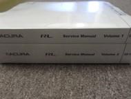 2009 2010 Acura RL Service Repair Shop Manual Set FACTORY BOOKS OEM BRAND NEW