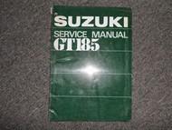 1973 Suzuki GT185 Service Repair Shop Manual FACTORY OEM BOOK 73 DEALERSHIP
