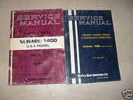 1973 Subaru 1400 Service Repair Shop Manual FACTORY OEM BOOK 73