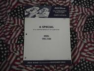 1972 Sea King Wards 6 Special HP Part Catalog 27400