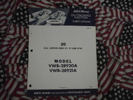 1968 Sea King Wards 20 HP Part Catalog