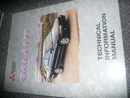 1999 MITSUBISHI Galant Technical Information Manual Service Repair Manual OEM